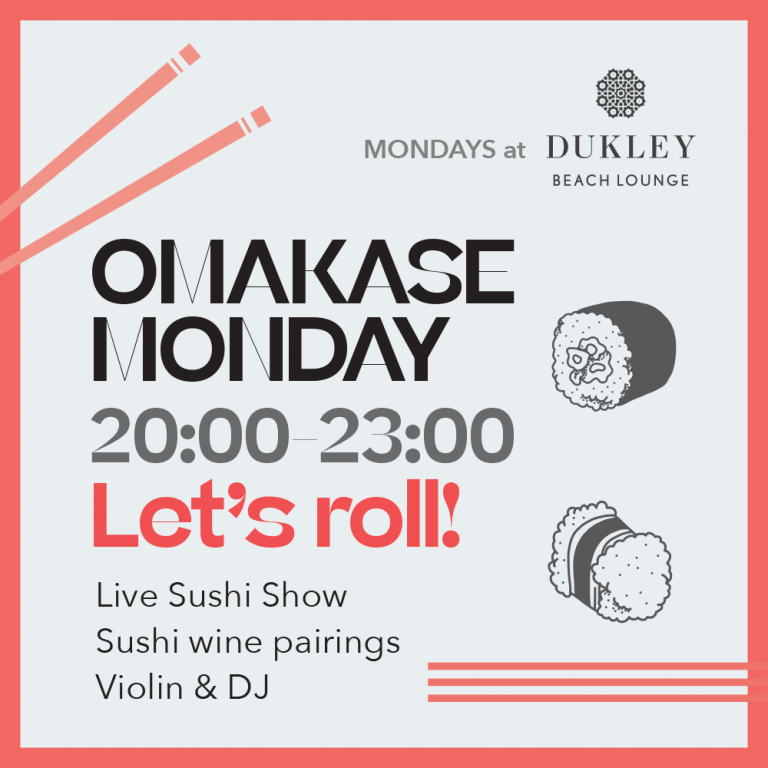 MONDAYS at Dukley Beach Lounge